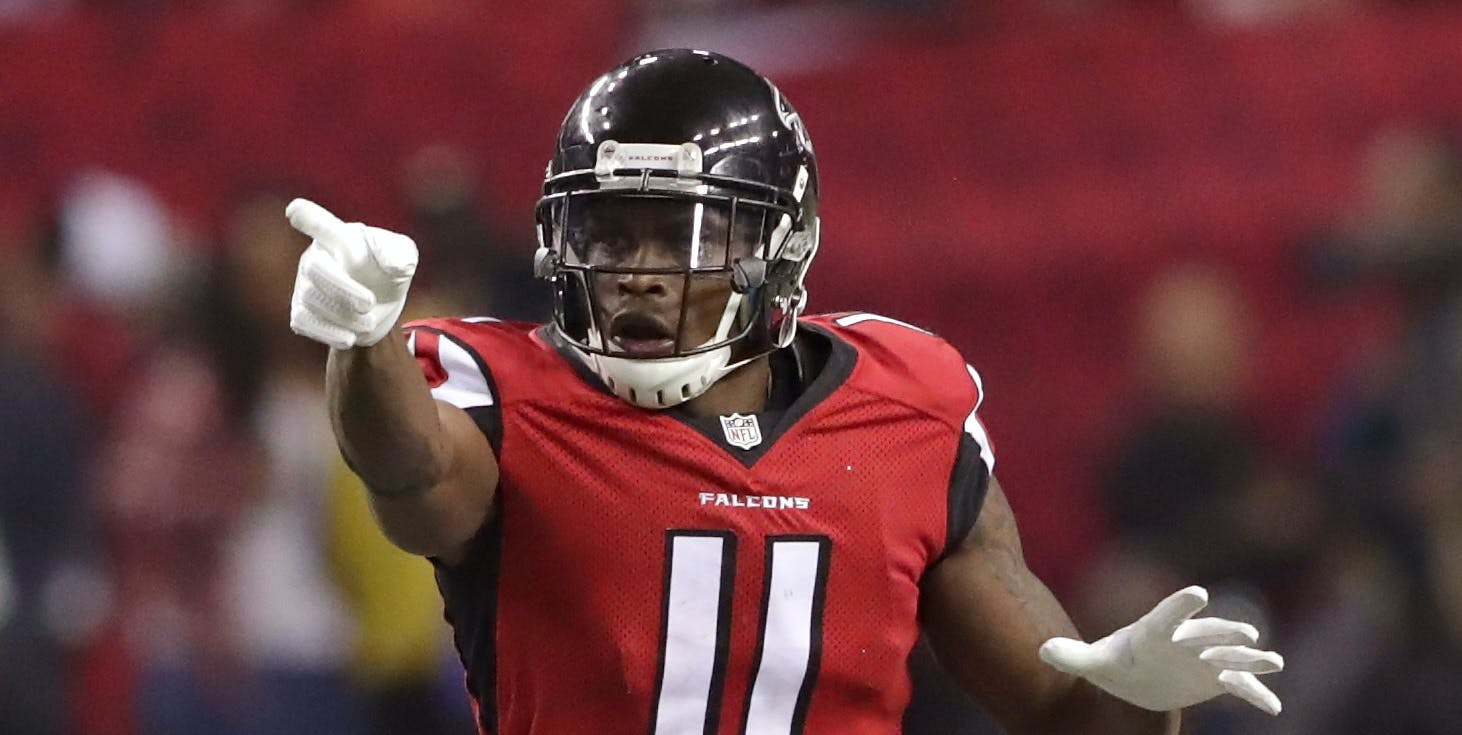 Pythagoras Will Team Up With Julio Jones for the Super Bowl