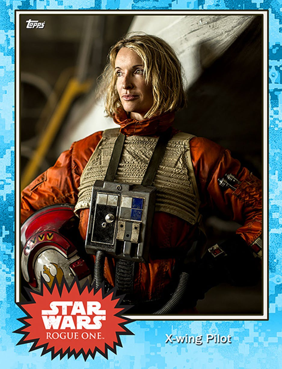 'Rogue One' X-Wing pilot.