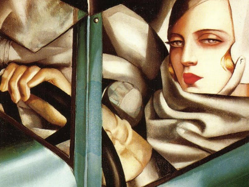 tamara de lempicka: how her 'green bugatti' painting defined an era