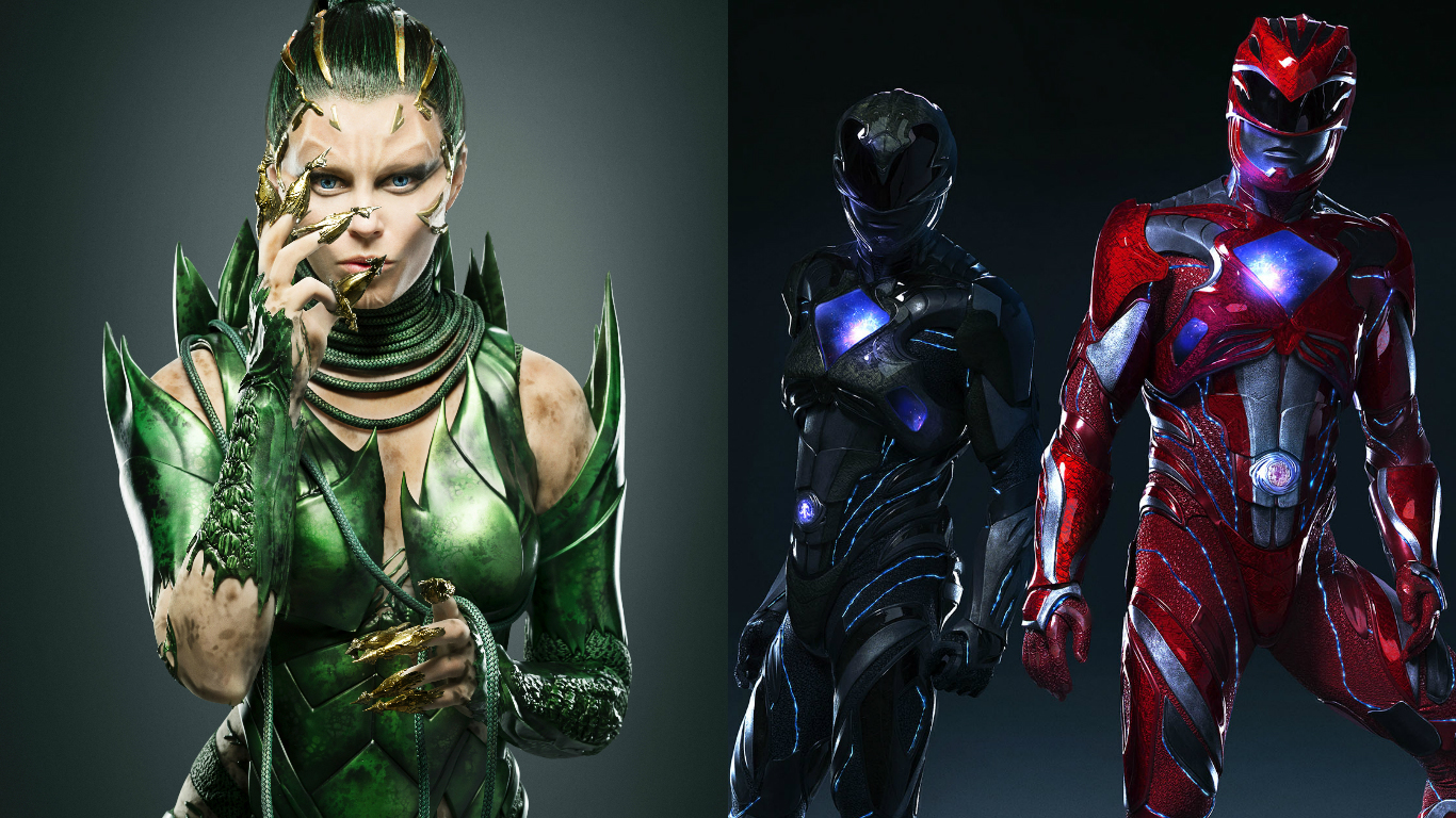Power Rangers Movie: New Rita Repulsa Images Released