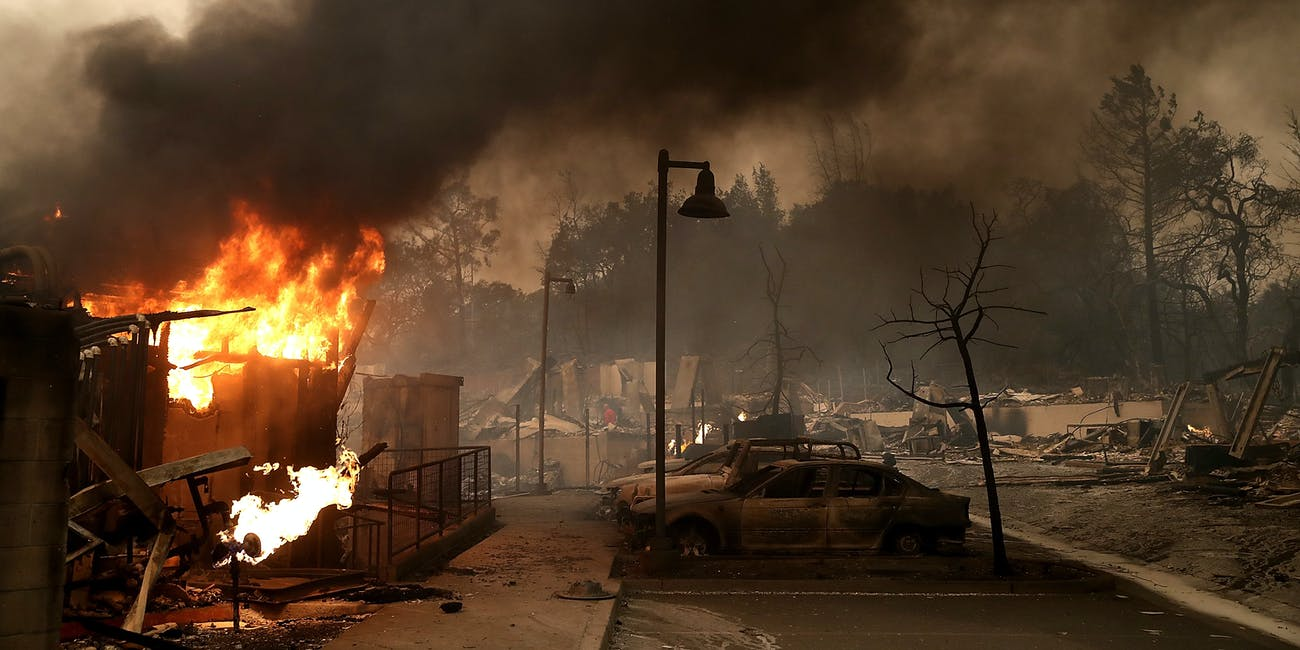 California Fires Map Shows The Extent Of Blazes Ravaging State S