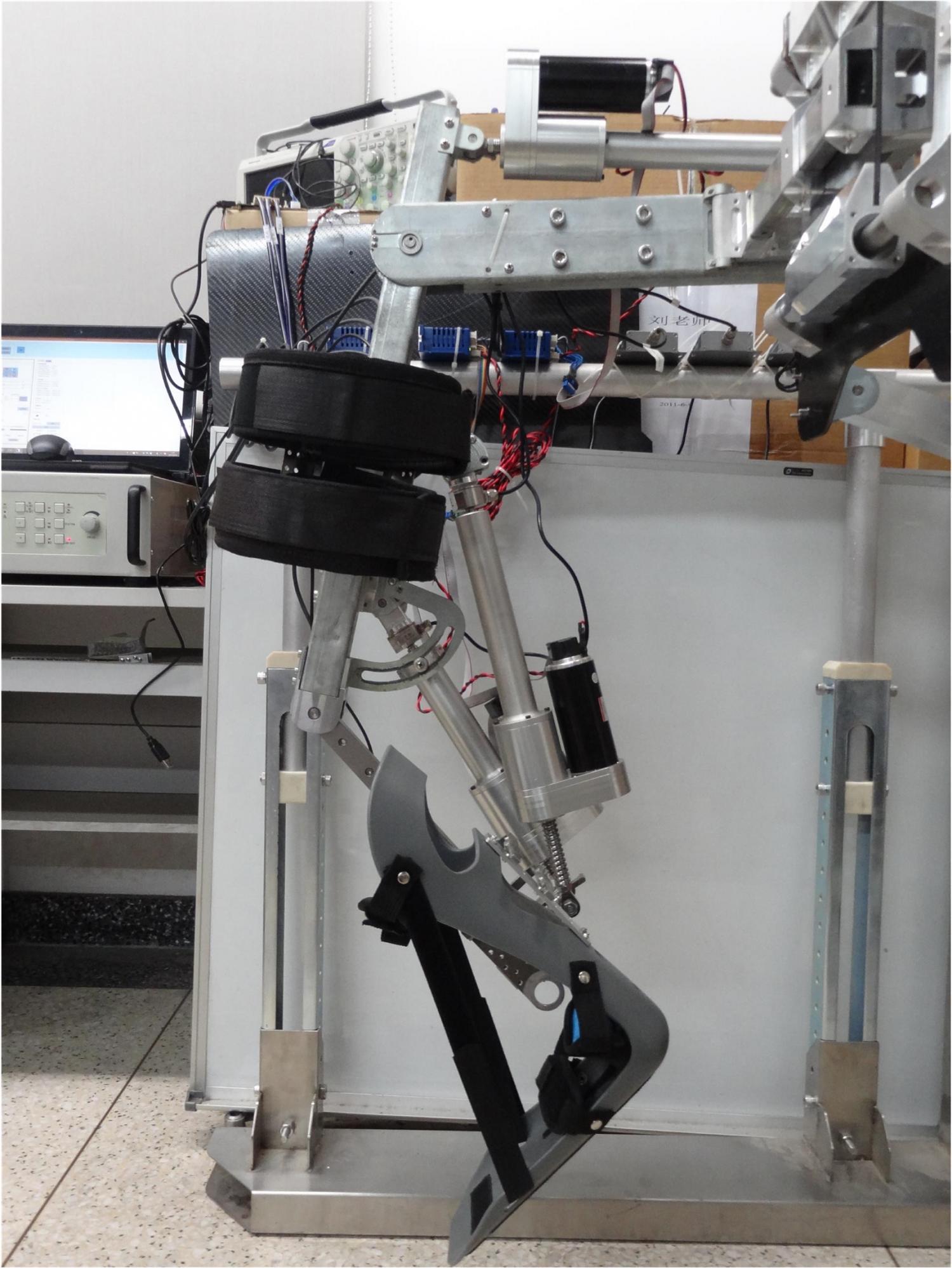 A prototype of the Beihang robot.