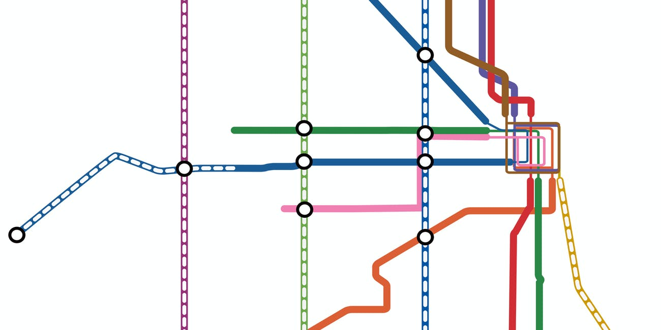 This Map Shows What Chicago's Future Metro Could Look Like ... Map Chicago Metro on downtown chicago map, chicago metra train stops, chicago airport map, chicago l map, chicago south map, chicago suburbs map, city center chicago il map, chicago walmart map, chicago global map, chicago metropolitan area map, chicago neighborhood map, chicago loop map, greater chicago map, chicago on us map, chicago jazz festival map, chicago colorado map, chicago metra map, chicago street map, chicago restaurants map, chicago city bus map,