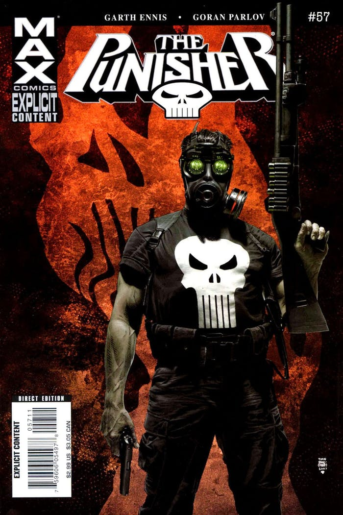 Punisher Max Marvel
