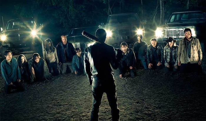 The cast of 'The Walking Dead'.