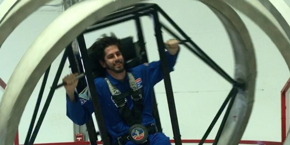 Space Camp S Craziest Simulator Won T Make You Barf Inverse