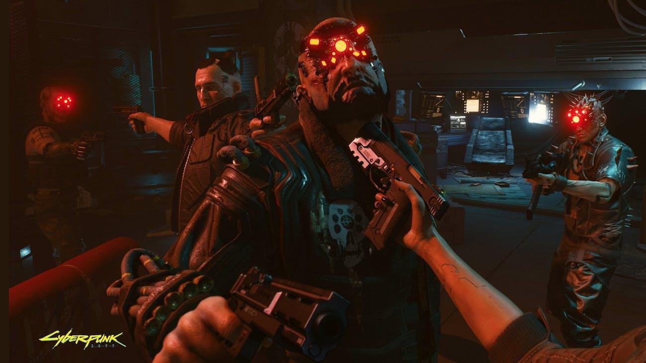 Cyberpunk 2077': Jackie Calling V