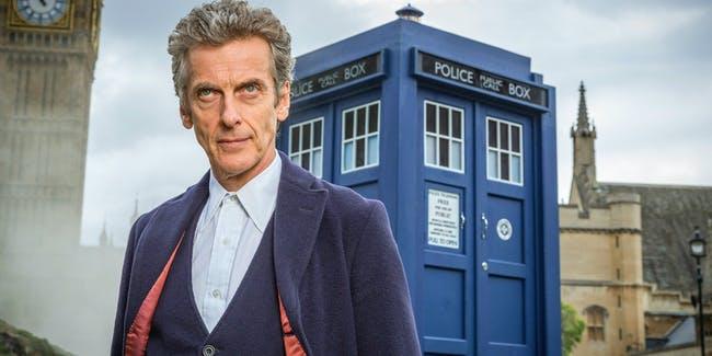 Peter Capaldi as the Doctor on 'Doctor Who'.
