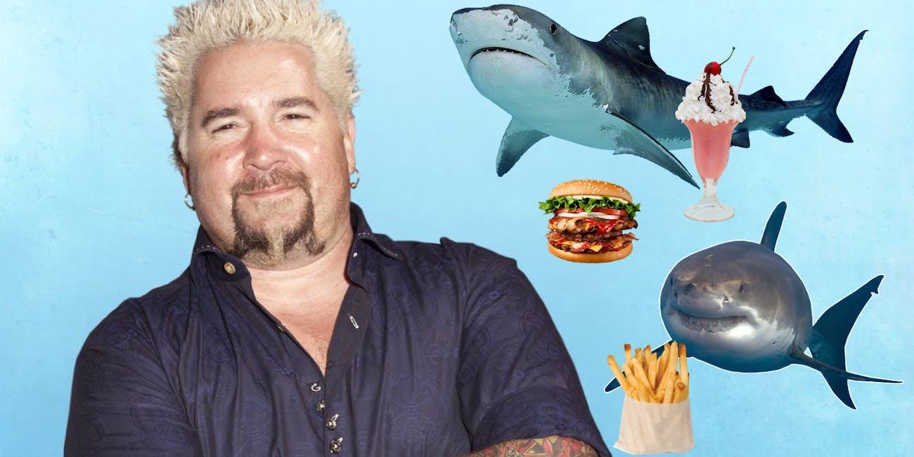 Guy Fieri Shark Week special