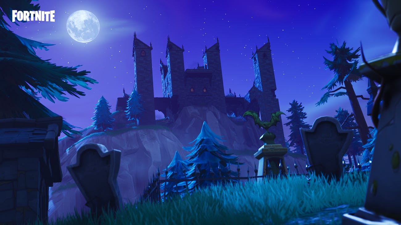 'Fortnite' Haunted Castle
