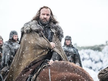 Rory McCann as Sandor Clegane in 'Game of Thrones'