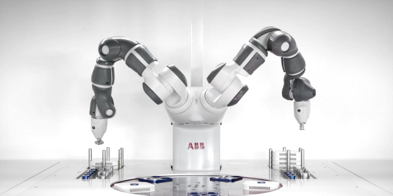 5G connectivity will enable robots to work faster.