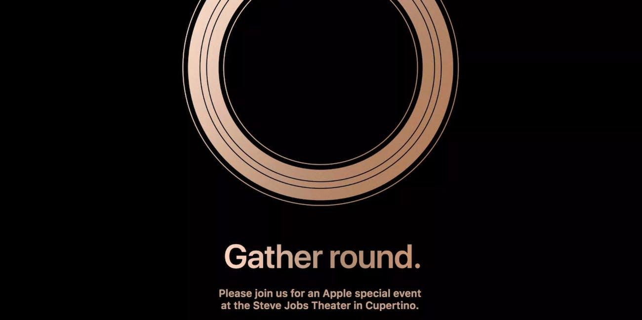 Apple 2018 iPhone event invitation