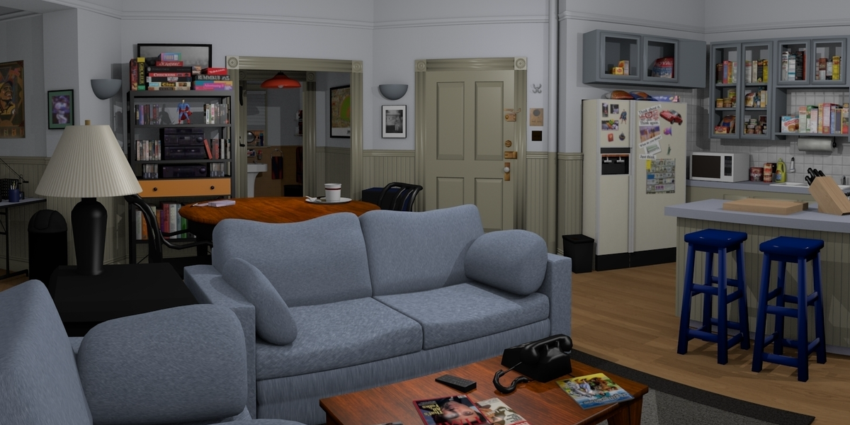how much would jerry seinfeld s new apartment rent for inverse. Black Bedroom Furniture Sets. Home Design Ideas