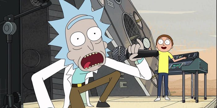 Rick and Morty apparently love Logic and they're super hyped for his new mixtape.