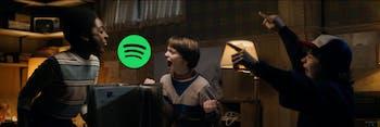 Spotify has a really cool 'Stranger Things' Season 2 Easter egg.