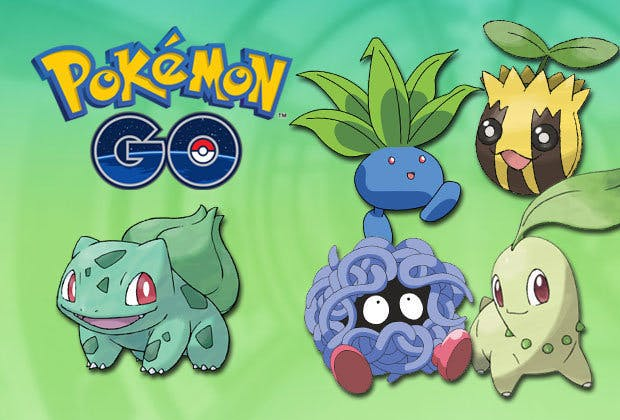 Just several of the Grass-type Pokémon you might find this weekend in 'Pokémon GO.'