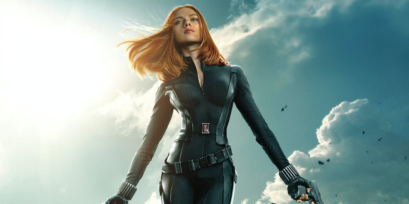 Marvel Black Widow Winter Soldier Movie