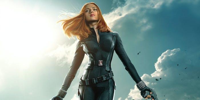 Marvel Black Widow Winter Soldier Movie