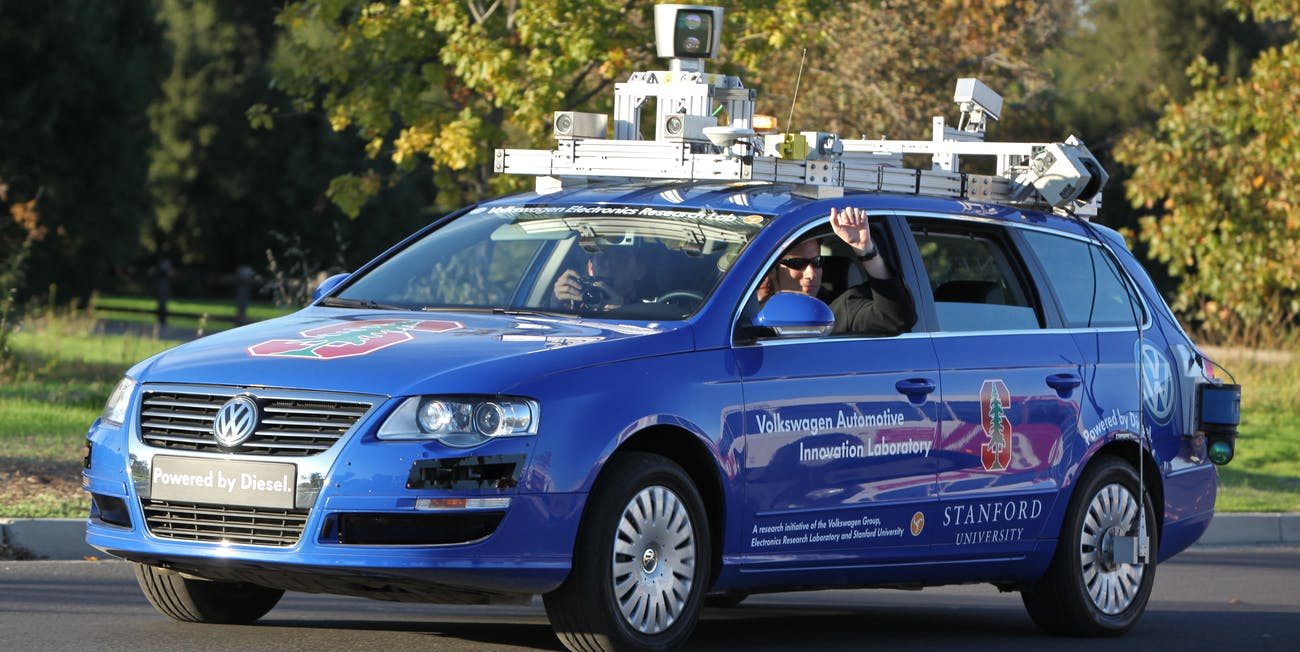 Will the autonomous car feature a steering wheel?