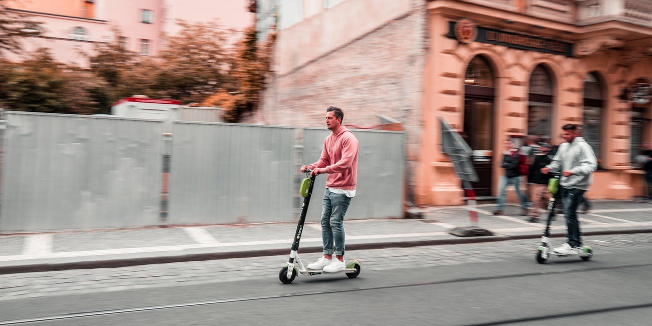 Getting around town has never been easier