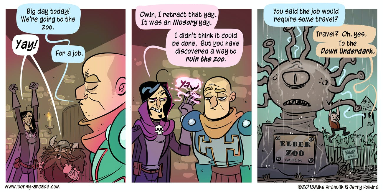 acquisitions incorporated comic