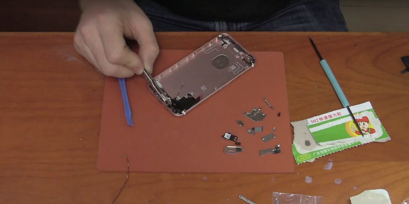 iPhone Built from Parts in Shenzhen, China
