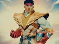 ryu ranger street fighter power rangers crossover