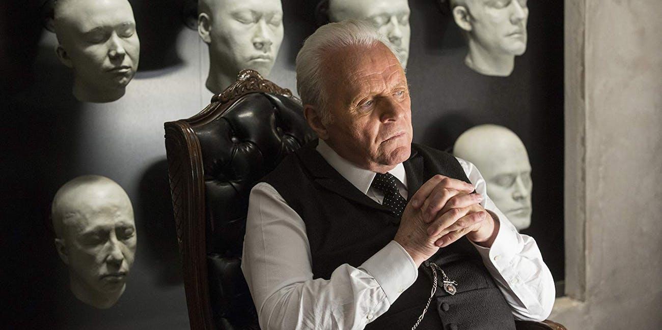 Anthony Hopkins in 'Westworld' Season 1 on HBO