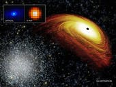 This Supermassive Black Hole is on the Run
