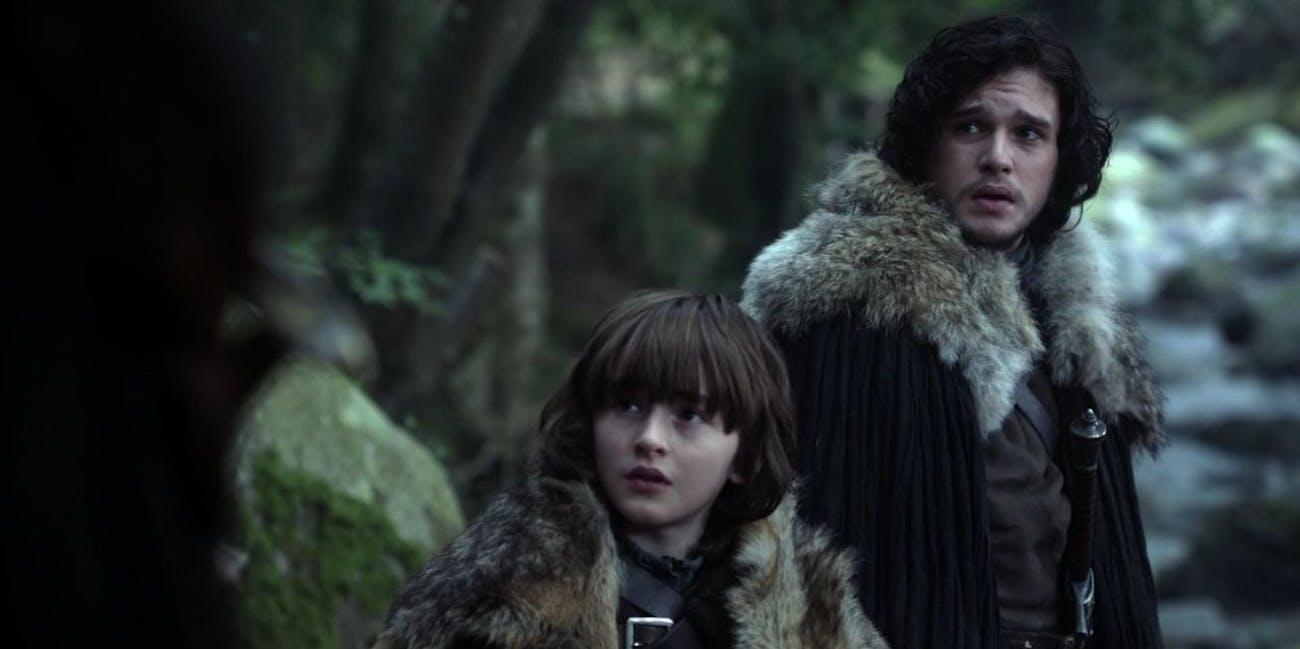 Bran Stark Jon Snow