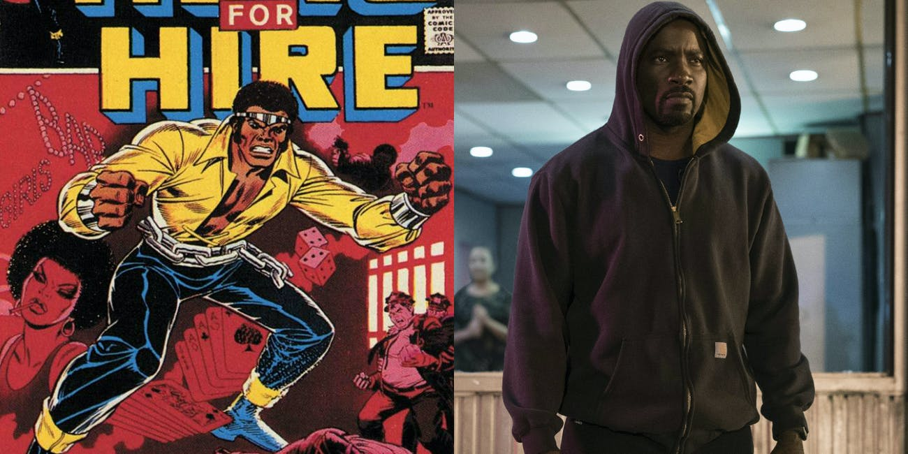 Marvel Comics Luke Cage Netflix