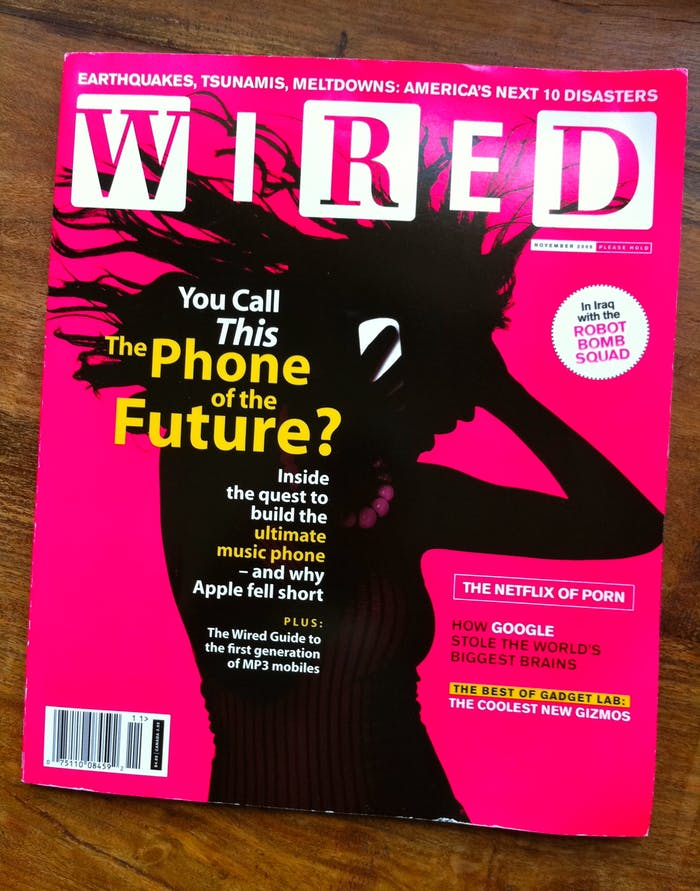 The infamous 'Wired' cover.