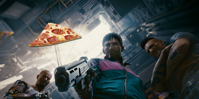 'Cyberpunk 2077' Demo Has a Weird Pizza Man Easter Egg
