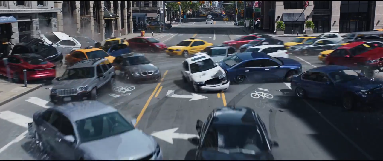 New Fast And Furious 8 Trailer Shows Thousands Of Self Driving Cars