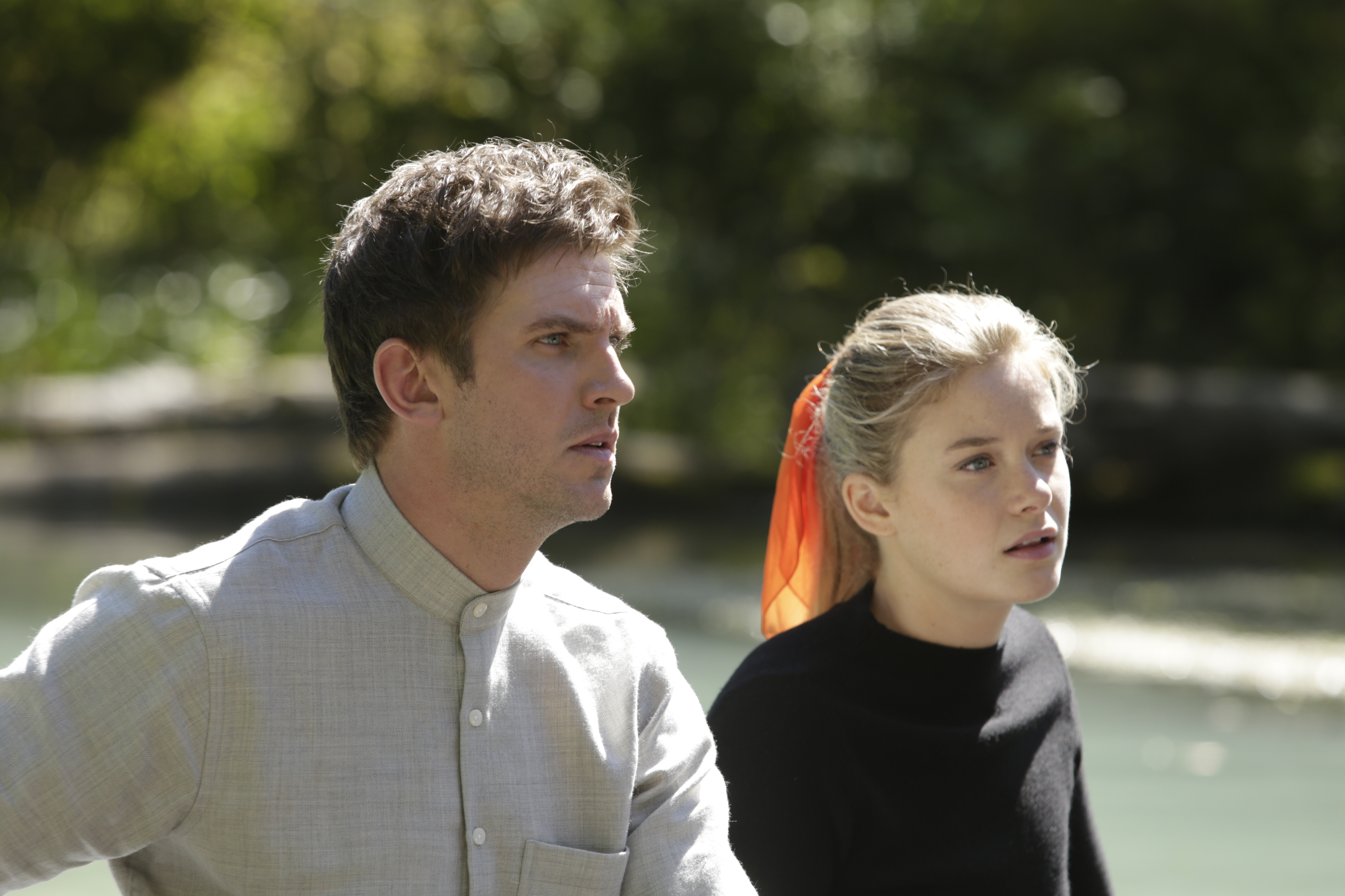 Dan Stevens and Rachel Keller in 'Legion'