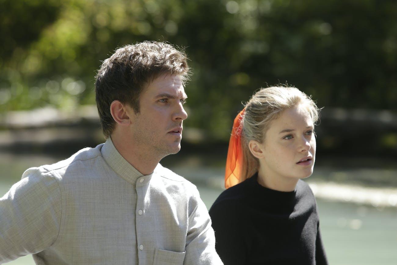 Dan Stevens and Rachel Keller in 'Legion'