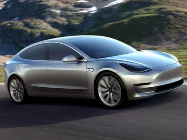 The Silver Tesla Model 3 Looks Incredible in This New Photo