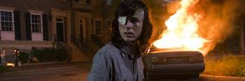 The Walking Dead Carl Dead