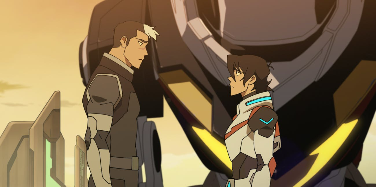 Voltron Shiro Gay Netflix Keith
