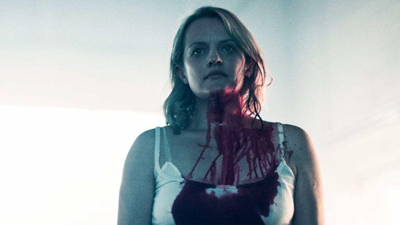 Elisabeth Moss in 'The Handmaid's Tale' Season 2.