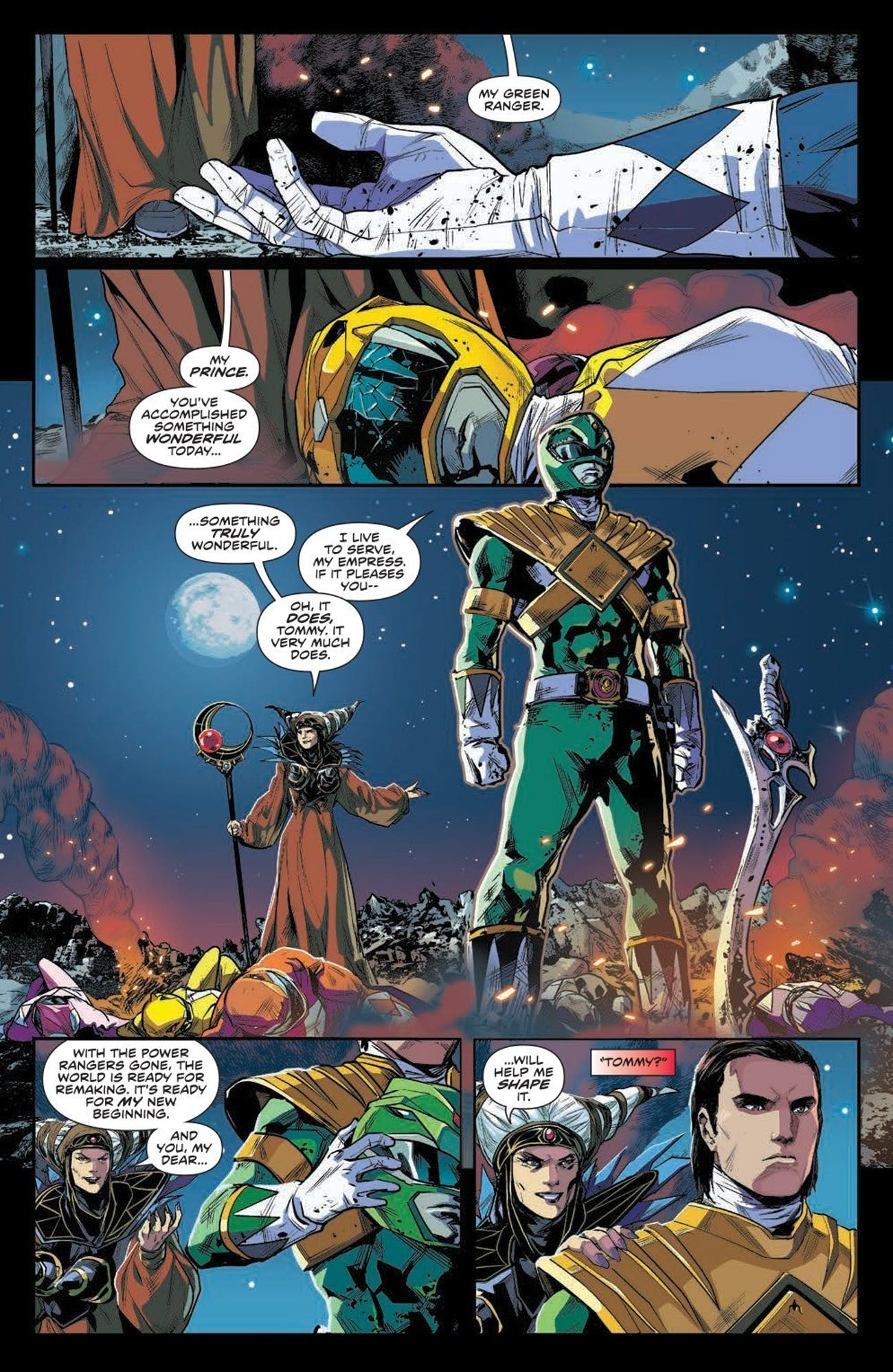 Power Rangers Comic Boom