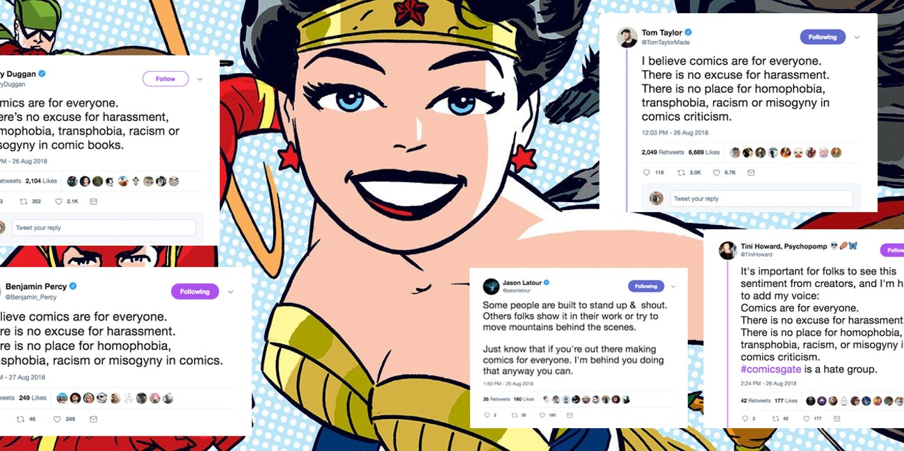 Comicsgate: The Industry Finally Speaks Out | Inverse