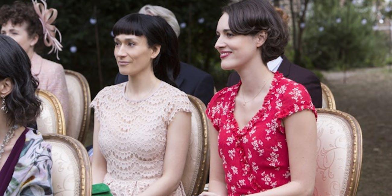 Sian Clifford and Phoebe Waller-Bridge in 'Fleabag' Season 2