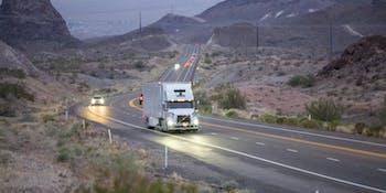 Uber ATG autonomous truck