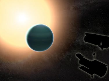 "Discovery of ""Warm Neptune"" Challenges Theories on Planet Births"