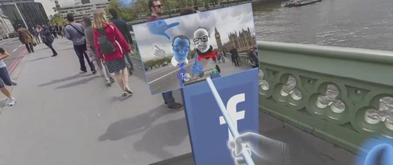 The virtual visit to London.