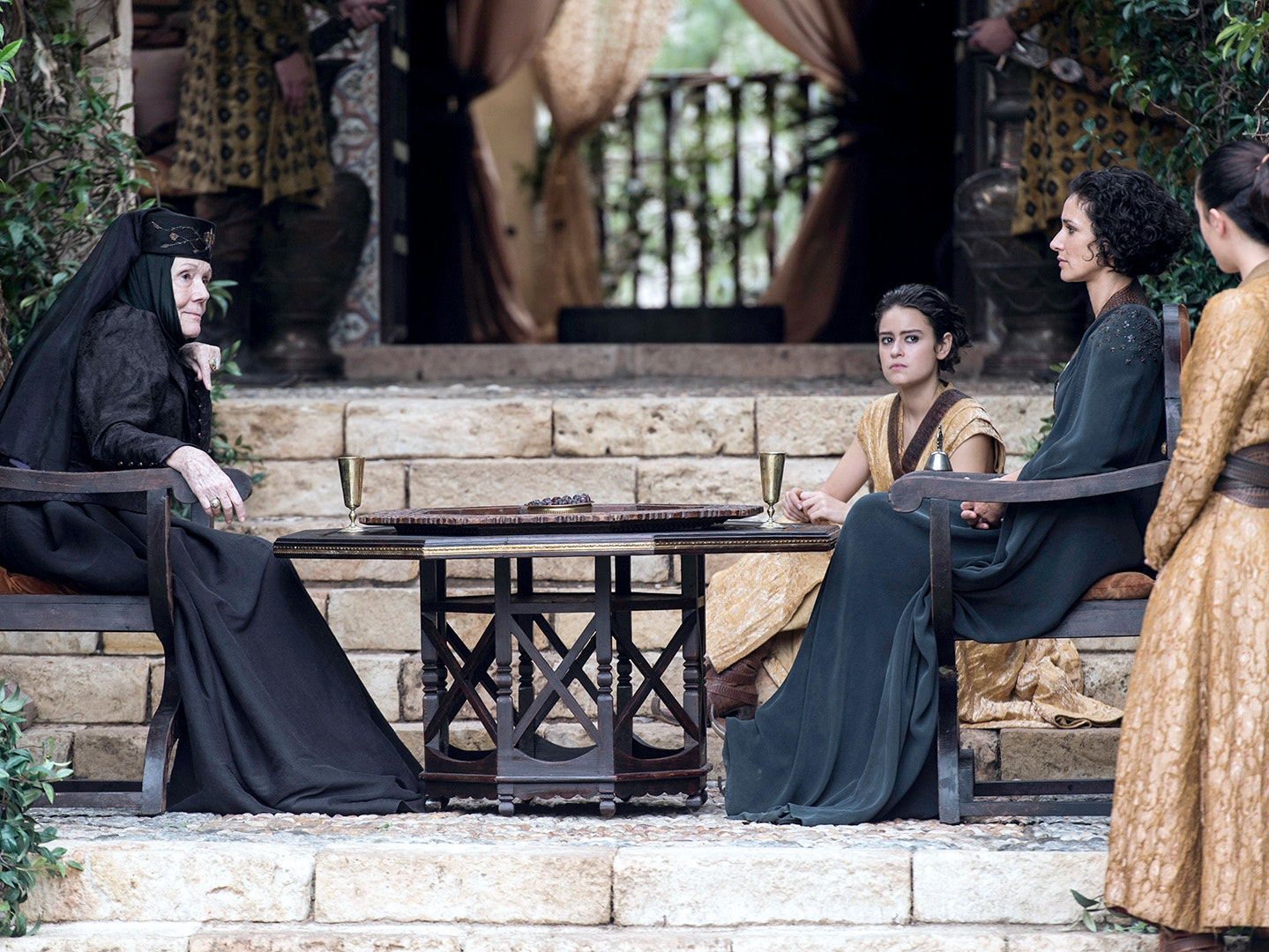 Tyrell meets Martell in Dorne