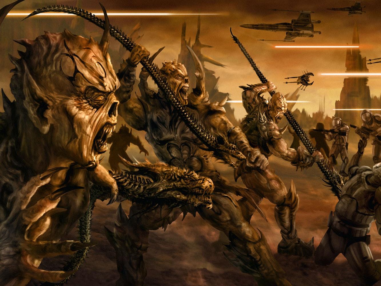 'Star Wars' Barely Escaped a Hacky Alien Invasion Plot