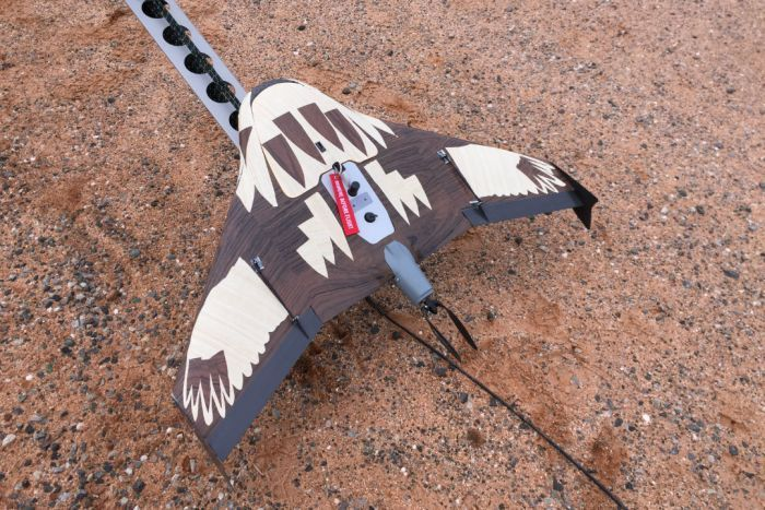 The company is trying to make the drones look less like targets to the eagles.